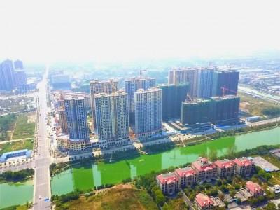 南县铜锣湾1号2019年10月高空全景
