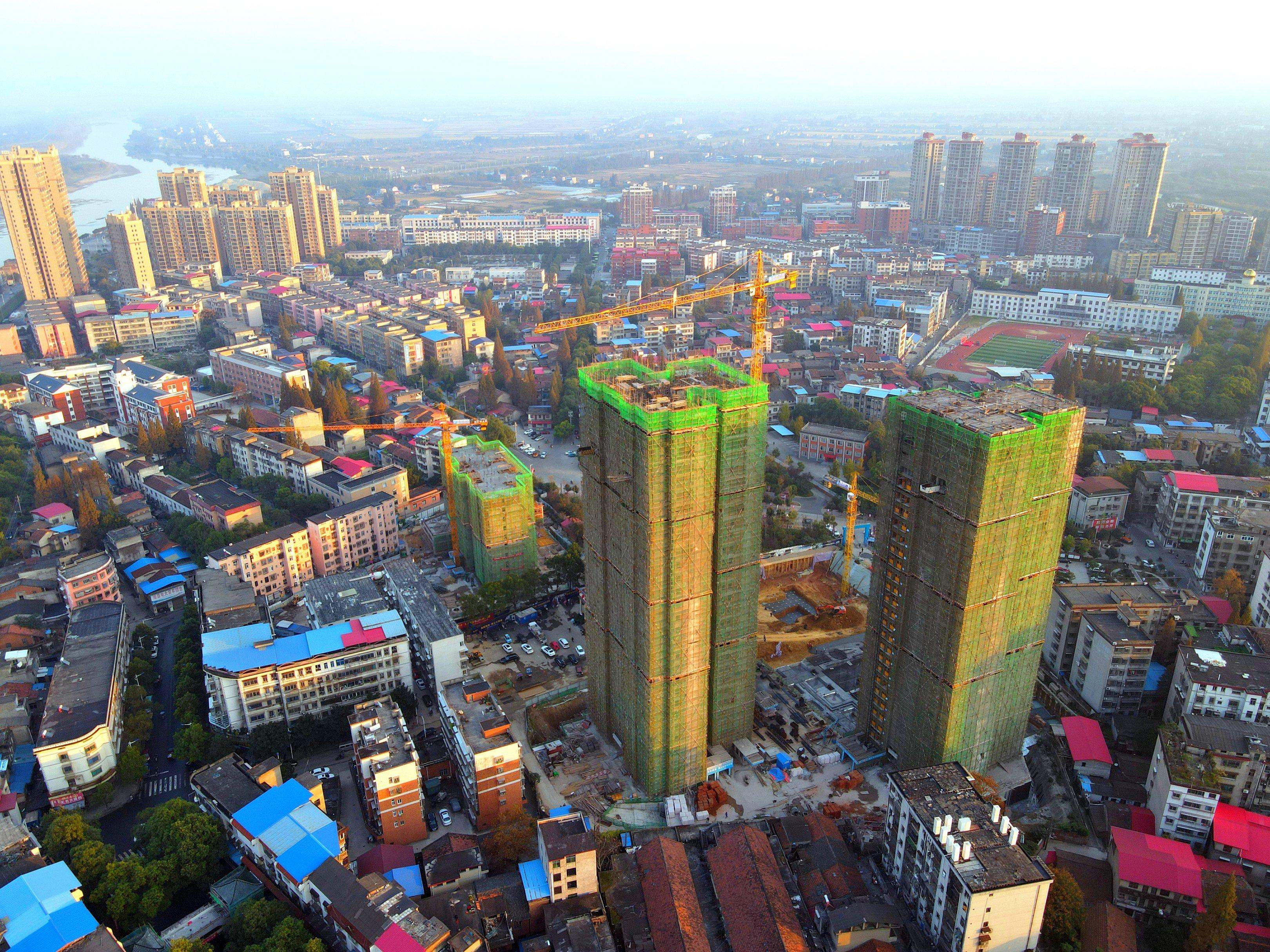 燕山学府2020-11高空航拍